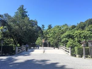 伊勢神宮参拝 150回目 清々しい気候と青空に包まれた参拝 お昼は豚捨 伊勢市 - 楽食人「Shin」の遊食案内