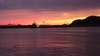 昨日の夕陽 - かいさんのひとりごと写真ブログ