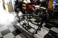 1947FL1200 フレーム・シリンダーヘッド干渉問題 - Vintage motorcycle study