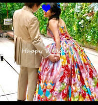 Happy Wedding!~ モルフォ蝶を飾って下さる花嫁様 - 布の花~花びらの行方 Ⅱ