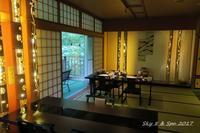 ◆ 復興の東北へ、その26 磐梯熱海温泉 「金蘭荘花山」へ 夕食編 (2017年6月) - 空と 8 と温泉と