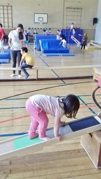 久しぶりに娘の親子体操クラブに行きました☆ - ドイツより、素敵なものに囲まれて②