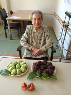 102歳のお誕生日 - ミミのつぶやき(イエローガーデン金沢白山)