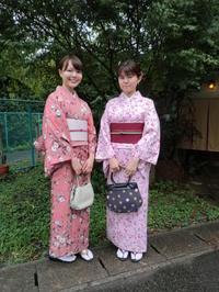 ピンクのお着物にお太鼓結びの帯・・・大人っぽいです。 - 京都嵐山 着物レンタル&着付け「遊月」