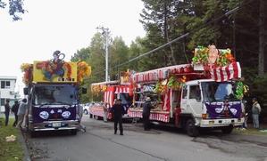 神社祭準備 - 木遊人masamiの十勝lifelog