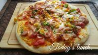 みんなで手作りピザ - 料理研究家ブログ行長万里  日本全国 美味しい話