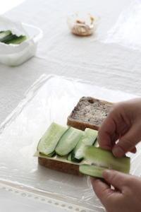 みんなでサンドイッチ作り♪ - パンとアイシングクッキー、マシュマロフォンダントの教室 launa