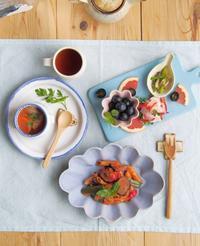 花だえん皿 - 陶器通販・益子焼 雑貨手作り陶器のサイトショップ 木のねのブログ