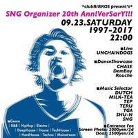 2017.09.23.SAT│SNG Organizar 20th Ann!VerSarY - @clubBIBROS - CENDRILLON+