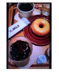 MUJIカフェにて - nagomi kumiko