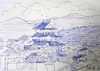 銀木犀 - たなかきょおこ-旅する絵描きの絵日記/Kyoko Tanaka Illustrated Diary