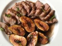 鴨のソテー 無花果のソース - やせっぽちソプラノのキッチン2