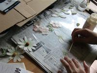 コサージュ教室 お花3種 - フィオレッタな日々 フィオレッタの創作ダイアリー