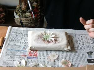 コサージュ教室お花3種 -