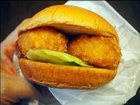 モスバーガーの期間限定メニュー「名古屋海老フライバーガー レモンタルタル」を試食 - 人形町からごちそうさま