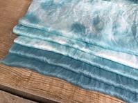 藍染*つまみ細工のアクセサリー - 『かくや』 つまみ細工のアクセサリー