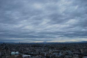 台風接近中 - 熱田観測所