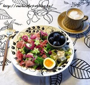 【おうちごはん】今日の1皿&サラダモーニングプレートはお星サマ入り☆彡 - 10年後も好きな家