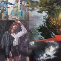 油絵の具とバレリーナ - 森のなかまと寸止めまつり