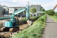 厚別川沿いの道路建設とオープンキャンパス - 照片画廊