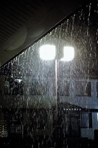 台風接近 - 今日も丹後鉄道