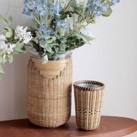 with flowers - handvaerker ~365 days of Nantucket Basket~