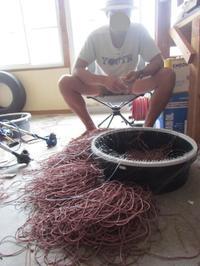 縄鉢完成 - Iターンで漁・猟師(直売有)の主人と対馬で田舎暮らし