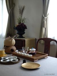 9月のおもてなしの中国茶レッスン - お茶をどうぞ♪