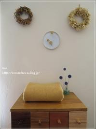 手作り ウールの布でラグランスリーブワンピース作ります♪** - &m   handmade with linen,cotton...