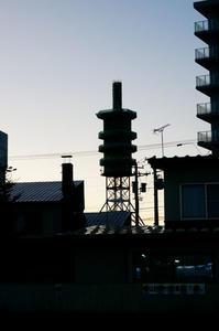 五重塔みたいな - inside out