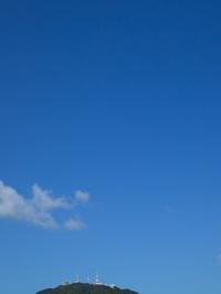 長崎時間から朽木小川時間へ・・・台風一過の青空 - 朽木小川より 「itiのデジカメ日記」 高島市の奥山・針畑郷からフォトエッセイ