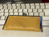 浮足 がま口 箱財布 - 朝寝・夜更かし・つまみ食い