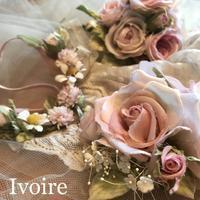 ピンク...♪*゚ - 手染めの布花 Ivoire