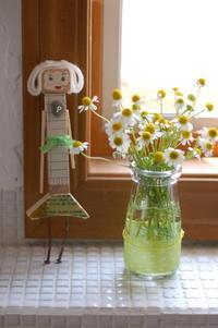 もっこうの9月「木ッ端人形 カモミールさん」 - 暮らしをつくる、DIY*スプンク
