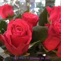 「お花の市場」 - 世田谷区羽根木 東松原の小さなお花の教室   「森のアトリエ  pommes de pin」