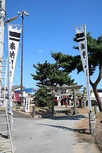 藤田八束の鉄道写真@神社仏閣、そして秋祭り・・・日本製紙石巻工場の踏切での写真撮影・ローソンでのコーヒーが美味しい、秋のお祭り - 藤田八束の日記