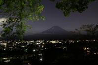 29年9月の富士(9)神社からの富士 - 富士への散歩道 ~撮影記~