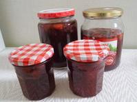 庭のイチゴでジャムを作る - ひろぽんのつぶやき