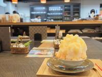 生桃みるくかき氷:クラフト&和カフェ匠館(弘前市) - 津軽ジェンヌのcafe日記
