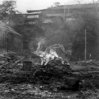 小樽市有幌町 石造倉庫解体 3 - いつもの風景