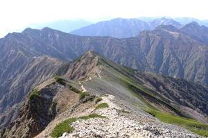 北アルプス登山の旅リターン25「鹿島槍ヶ岳」 - * Unknown Life