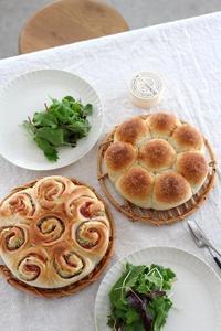 Backeのパンレシピは、パン作り・初心者さんのためのレシピです。 - ちぎりパン 日本一簡単なパン教室 Backe
