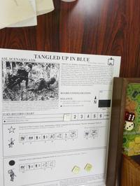 YSGA第339回定例会➅光栄な事にASLミートアップの会場に(AH/MMP)ASL 1997 Annual収録[A116]Tangled Up in Blue ~ビルマ北部Nhpum Ga - YSGA(横浜シミュレーションゲーム協会) 例会報告