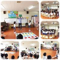 火曜日は英会話Lesson(@^^)/ - ひのくま幼稚園のブログ