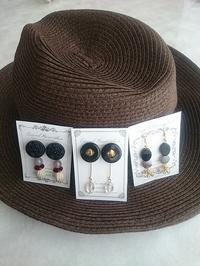 ♪ブース様ご紹介「耳飾り屋☻ミミカザリヤ」さん・「田舎の手作り屋koba」さん♪ - Handmade+1 in ひろチカ