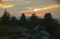 秋の夕日 - TAKE IT EASY