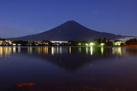 29年9月の富士(10)河口湖の富士 - 富士への散歩道 ~撮影記~