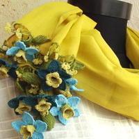 売り切れのコットン素材「花のストール」再入荷しました - カッパドキアのデイジーオヤ・キリムバッグ店長日記