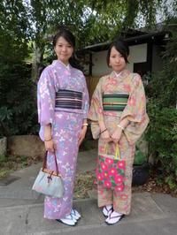 お着物で楽しい時間を過ごしていただきました。 - 京都嵐山 着物レンタル&着付け「遊月」