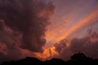 雷雨の後の夕焼けは・・・ - きょうから あしたへ その2